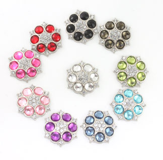 Blingy Rhinestone Button Abbey