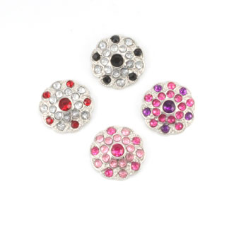 Blingy Rhinestone Button Shelley - Pattern