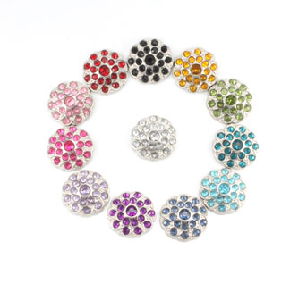 Blingy Rhinestone Button Shelley
